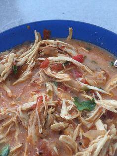 Chicken Enchilada Soup (slow cooker recipe)
