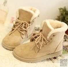 14. #Girly Timberland - 29 Boots to Keep You #Stylish This Winter ... → #Fashion #Boots