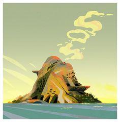 Stranded On A Paradise Island by Capucha La Pucha