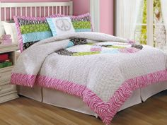 Peace Sign Twin Comforter with Sham by Pem America. $100.08. Features a Full Queen Comforter 68 inches x86 inches Also 1 standard size shams, size 20 inches by 20 inches. 100% Cotton face cloth. Filled with 100% hypoqallergenic polyester. Made in China.