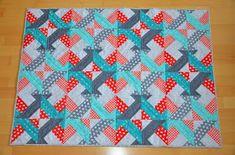 Hohenbrunner Quilterin: Schneller Jelly Roll Quilt Jellyroll Quilts, Quilt Blocks, Quilt Patterns, Blanket, Crafts, Internet, Ideas, Tutorials, Patchwork Quilting