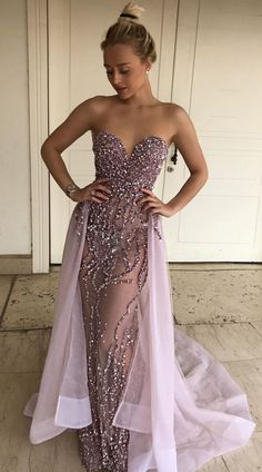 stunning grape mermaid prom dresses, elegant sweetheart detachable train prom dresses, fashion strapless party dresses with beading Prom Dresses With Sleeves, Tulle Prom Dress, Mermaid Prom Dresses, Cheap Prom Dresses, Homecoming Dresses, Dress Up, Bridesmaid Dresses, Formal Dresses, Party Dresses