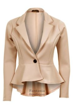 New 2016 Women's Fashion Blazer- Slim Short Design http://kingblazers.com/product-category/women-blazers/?ref=207