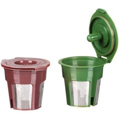 Keep your Keurig but ditch the pods with a refillable filter! All of the convenience, none of the disposables Sustainable Gifts, Sustainable Living, Waste Reduction, Keurig, Zero Waste, Brewing, Filters, Heaven, Sustainability