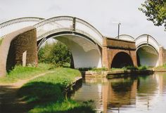 Two bridges over canal A picture of: Braunston, Northamptonshire Bridges, Places Ive Been, England, Tours, Ring, Pictures, Photos, Rings, Jewelry Rings