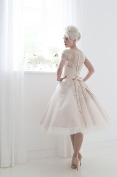 1378 best Short Wedding Dresses images on Pinterest | Short bridal ...
