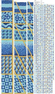 Авторские схемы на 18-24 бисерины. – 24 фотографии