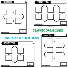 110 Unit 7 Expressions Equations Ideas Middle School Math Teaching Math Math Lessons