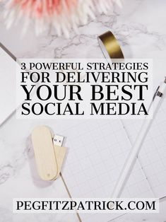 Random acts of social media getting you nowhere? Grab these three strategies and start seeing results from Peg Fitzpatrick.