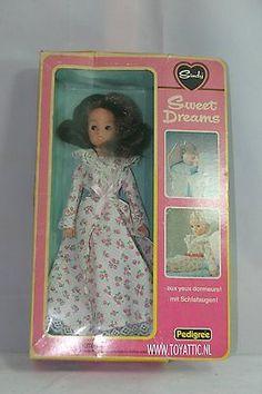 Sindy doll ( barbie sized) Sweet dreams dark hair with box by pedigree #44694
