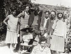 The Bloomsbury group.. Vanessa Bell, Duncan Grant, Roger Fry. British modernist theory...♔..