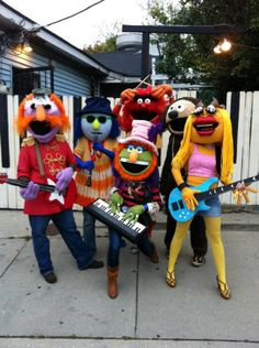 The Muppets Halloween costumes