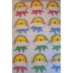 Distintivos Escolares Niños Y Niñas Preescolar En Foami Bs 20.0