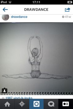 Drawing dancer