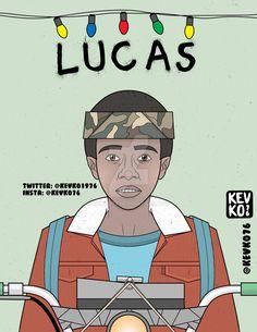 Lucas - Stranger Things by kevko76.deviantart.com on @DeviantArt
