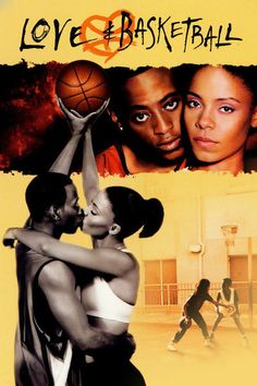 Love and Basketball Poster C Omar Epps Sanaa Lathan Alfre Woodard Poster Print, Love And Basketball Movie, Basketball Movies, Basketball Quotes, Basketball Leagues, Best Chick Flicks, African American Movies, Omar Epps, Arte Hip Hop, Plus Tv