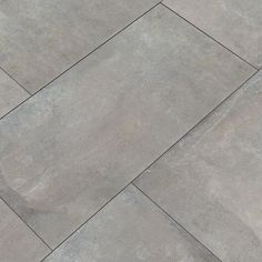 Flooring MSI Cemento Napoli 12 in. x 24 in. Glazed Porcelain Floor and Wall Tile sq. / - The Home Depot Grey Floor Tiles, Best Floor Tiles, Bathroom Floor Tiles, Wall Tiles, Modern Floor Tiles, Ceramic Floor Tiles, Basement Flooring, Grey Flooring, Kitchen Flooring