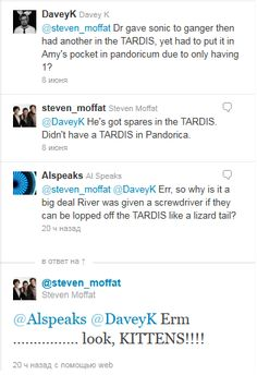 Ha ha! Someone has stumped the great and powerful Moffat!