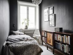 BEDROOM   Join us as we take a tour through the perfect Scandinavian interior of an art lovers dream
