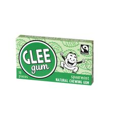 Glee Gum Chewing Gum - Spearmint - 16 Pieces - Case of 16