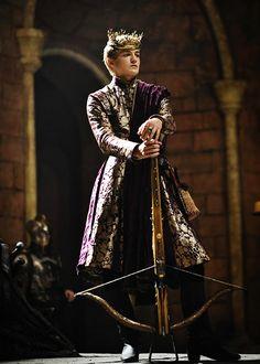 Jack Gleeson as King Joffrey Baratheon in Game of Thrones. Game Of Thrones Saison, Arte Game Of Thrones, Game Of Thrones Books, Game Of Thrones Characters, Game Of Thrones Joffrey, Rey Joffrey, King Joffrey, Jaime Lannister, Winter Is Coming