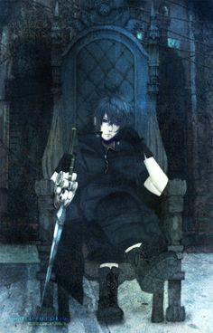 Somnus Nemoris by ~Nixete on deviantART (I love this picture. It looks like he's still waiting for his game to be released.)