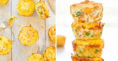 Recept na Slané zeleninové muffiny bez mouky