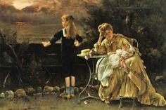 alfred stevens art | Alfred Stevens 1823-1906 | Belgian Academic Classical painter