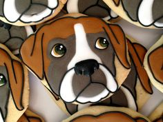 Boxer cookie by Oh Sugar! Events