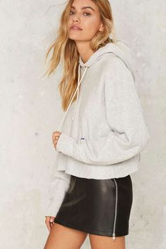After Party by Nasty Gal You're a Champ Cropped Hoodie - Clothes | After Party…