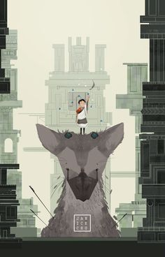 Last Guardian , Janice Chu on ArtStation at https://www.artstation.com/artwork/last-guardian