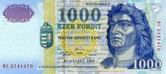 Hungary - Best of Banknotes Bank Account Balance, Money Template, Passport Card, Money Notes, Gold Reserve, Gold Money, Sri Lanka, Baseball Cards, Imperium