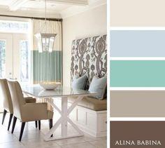15 Combinaciones ideales de colores para interiores Más