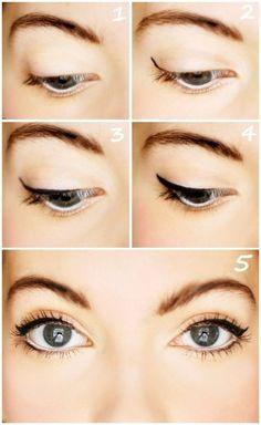 comment maquiller les yeux globuleux, maquillage yeux globuleux