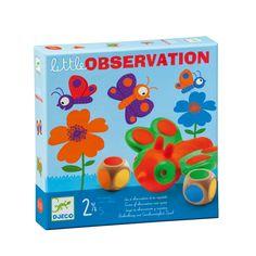 Jeu de société Little observation Djeco pour enfant de 2 ans à 5 ans - Oxybul éveil et jeux - 17€