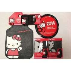 Hello Kitty Car Accessories Matts And Matching Seat