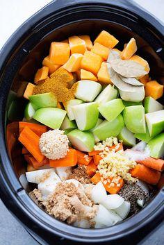 Curried Butternut Squash Soup | 21 Crock Pot Dump Dinners For Winter