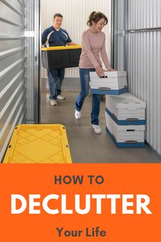 The heat is on and it's time to declutter. Click through to learn how to make a clean sweep. Sparks Joy, Clean Sweep, Declutter Your Life, Storage Facility, Self Storage, Moldova, Tidy Up, Organizing Your Home, Staying Organized