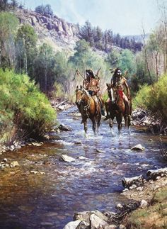 MARTIN GRELLE - WHEN HORSES LEAVE NO TRACKS INDIAN PICTURES