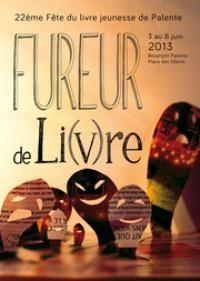 22ème fête du livre jeunesse de Palente 2013 à Besançon / Doubs. Du 3 au 8 juin 2013 à Besançon.