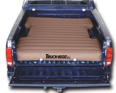"Truck-bedz new Weekender series , the affordable solution, heavy duty PVC vinyl and 2 stage boat valves. 96"" long fits all 8' Longbeds including: * Chevy Silverado 1988-current * Ford F250/F350 Series 1982-current * Dodge Ram 1969-current * GMC Denali & other LB models 1988-current * Toyota Tundra 1999-current and other truck models with 8' beds * Also fits full size vans with 8' beds Features: * World's leading patented valve technology * convenient * Inflate in roughly 60 seconds * variety…"