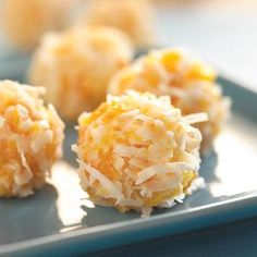 APRICOT COCONUT BALLS-- 4 INGREDIENTS, DRIED APRICOTS, COCONUT, EAGLE BRAND MILK, POWDERED SUGAR - NO BAKE.