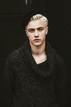 Lucky Blue Smith Poses for Interview, Talks Lucky Charms
