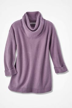 Ultrasoft Cowl Tunic. Love this color! Almost the color of raspberry ice cream.