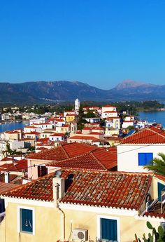 Poros Island -Aegean Sea - Greece.