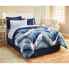 Essential Home- -Complete Bed Set Pure