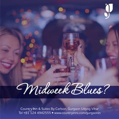 Midweek blues? Get them fixed with a warm Kitty Party with your favourite friends and food. Call us on 783866000, we're brimming with ideas! #kittyparty #friends #gossip #fun #food #dance #gurgaon #countryinnhotels #countryinnudyogvihar