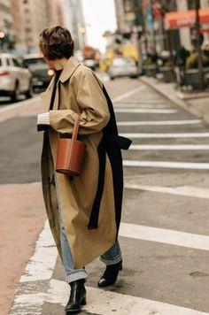 Long trench coat | Curated by Lulu W @luluwang