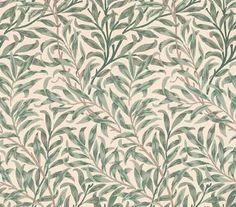 Morris Willow Boughs Green / Brown Wallpaper main image