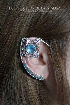 Ear elf • elvish earring • ear cuff Ear Jewelry, Jewelry Making, Piercings, Elf Ears, Elvish, Fantasy Jewelry, Larp, Creations, Geek Stuff